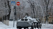 Tensions down after 'coup' in Ukraine's separatist region