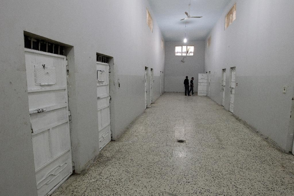 Most detainees at Ain Zara prison have been convicted of common crimes or were supporters of former dictator Moamer Kadhafi