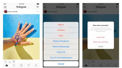Instagram will finally let you mute your friends