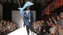 Berlin Fashion Week: Warum dieser Look so lustig und traurig zugleich ist