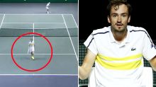 'What on earth': Tennis world baffled by shock Daniil Medvedev act
