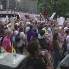 Abortion rights supporters protest in New Orleans