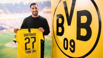 Emre Can s'engage jusqu'en 2024 avec le Borussia Dortmund