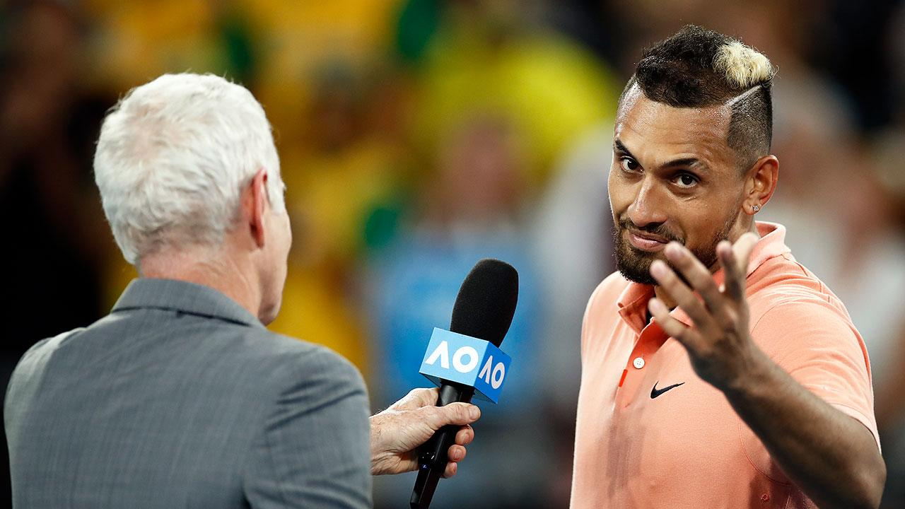 'Make me tear up': Tennis legend's incredible gesture floors Nick Kyrgios