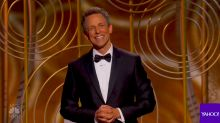 Sexual misconduct takes center stage during Golden Globes opening monologue