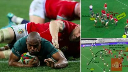 Four ferocious minutes that swung the series: How South Africa seized control as the Lions began to unravel