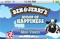 """Ben & Jerry's app adds augmented reality """"Moo Vision"""""""