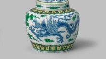 Tiny Chinese pot sells for almost £1 million