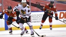 Chicago Blackhawks' Kane a star to media as well