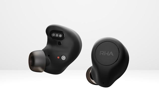 RHA's new wireless earbuds have ANC and wireless charging