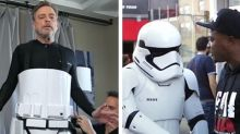 Mark Hamill wanders Comic-Con disguised as a stormtrooper