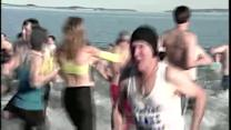 Dozens participate in annual Polar Bear Plunge