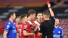 Ralph Hasenhuttl frustrated by VAR as Jannik Vestergaard's red card overturned