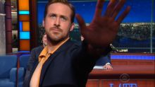 Ryan Gosling Repeatedly Storms Out of 'Late Show' Interview