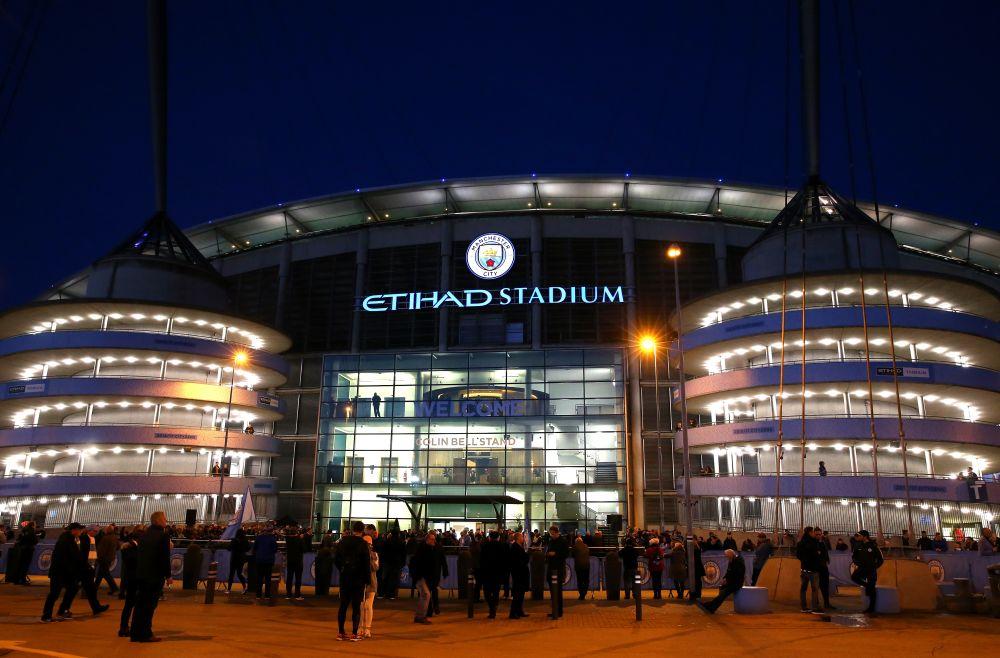 El Etihad Stadium, punto de encuentro tras el atentado de Manchester