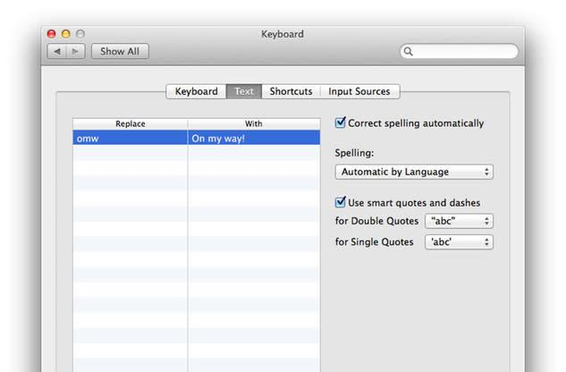 Mac 101: How to use OS X macros to quickly enter long strings of text