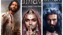 Deepika Padukone, Ranveer Singh and Shahid Kapoor's PADMAVATI gets a UA certificate; has a new TITLE now