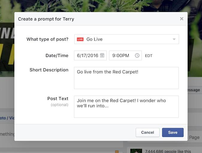 Facebook Live adds a bunch of features for famous people