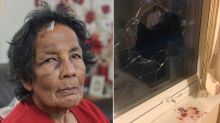 Great-grandmother left terrified after being hit by brick hurled through window in case of mistaken identity