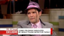 Corey Feldman shares 1993 police tape identifying alleged abuser on 'Dr. Oz'