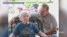 93-year-old fulfills lifelong dream to ride 'beautiful' Harley-Davidson motorcycle
