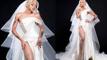 Pabllo Vittar posa vestida de noiva e anuncia data especial
