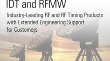 IDT and RFMW Ltd. Announce New Franchise
