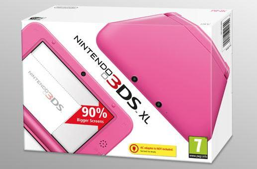 Pink Nintendo 3DS XL misses Easter, arrives in the UK later this Spring