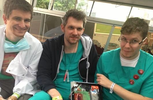 Surgeon Simulator 2013 exploring possibility of tablet transplant