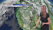 Monday: stability returns with sunshine & warming