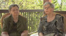 Surviving Dionne quintuplets trying to save home