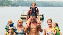 Josh Duhamel Poses Shirtless During Lake Day with His Son Axl: 'Nothing Better'