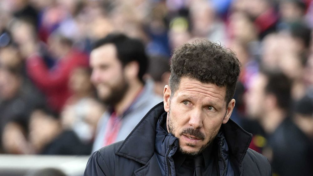 "Atlético Madrid, Simeone : ""Bien reprendre en Liga"""