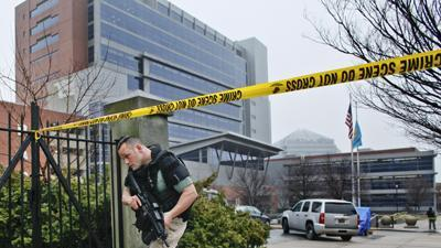 Police: 3 Dead in Courthouse Shooting