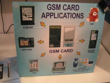 The swappable GSM radio