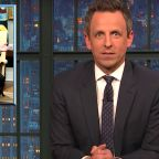 Seth Meyers Has A Theory About Mike Pence's Silence
