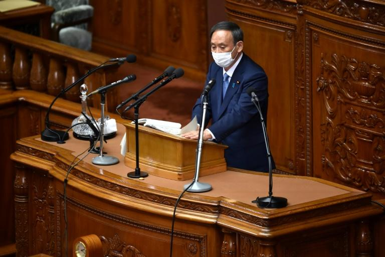 Japan PM Suga sets 2050 deadline for carbon neutrality