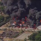 Grease plant fire prompts evacuations in Rockton, IL