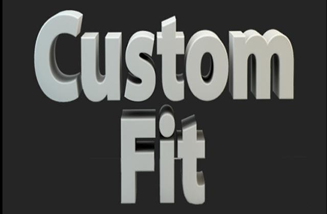 Serious about getting in shape? Get Custom Fit