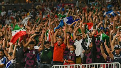 Mexico fans punished for homophobic chant