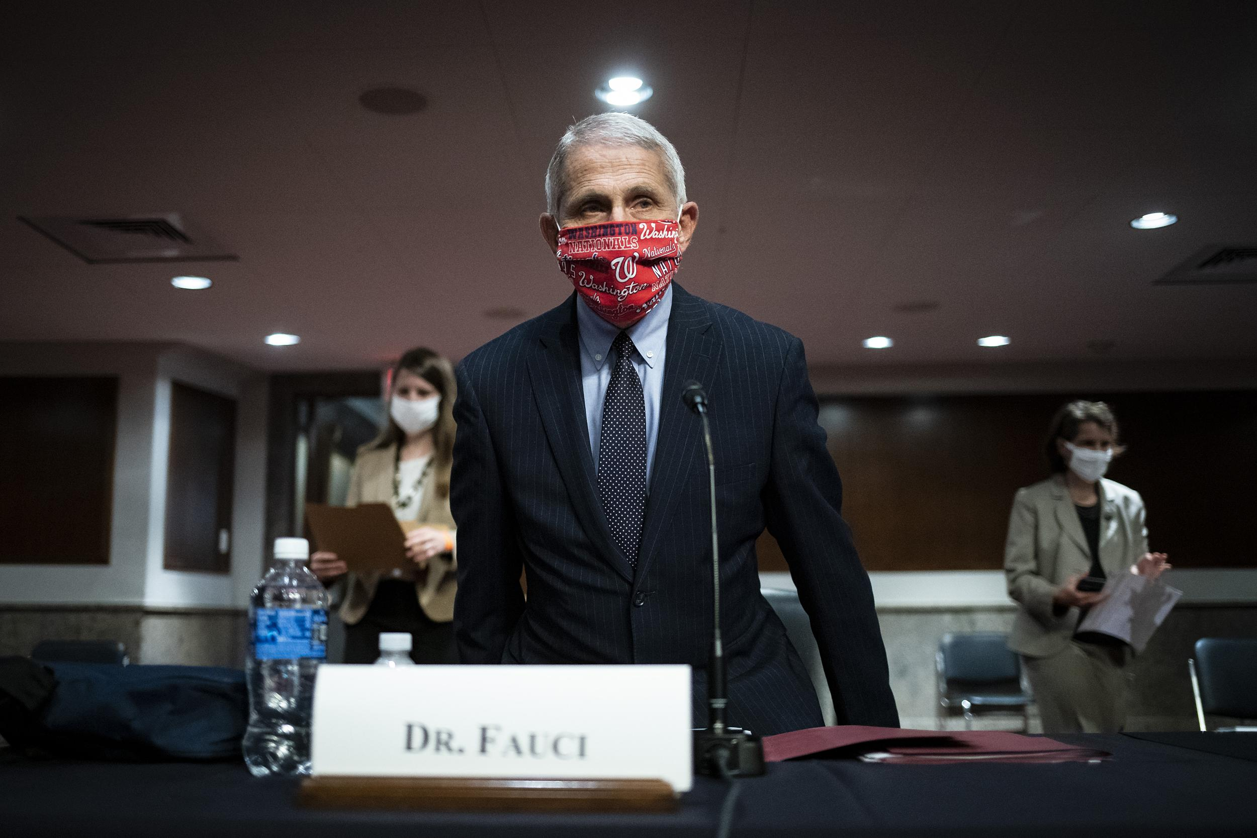 Fauci disagrees with Trump on COVID-19, shares worrying statistics
