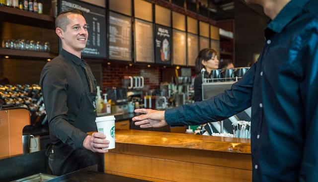 Starbucks adds mobile pay and ordering to its Android app