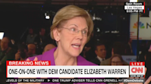 Warren says Bloomberg should drop out of race following brutal debate