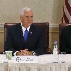 The Latest: Trump denies that few want chief of staff job