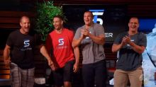 Rob Gronkowski helps his brother make a deal with A-Rod and Mark Cuban on 'Shark Tank'