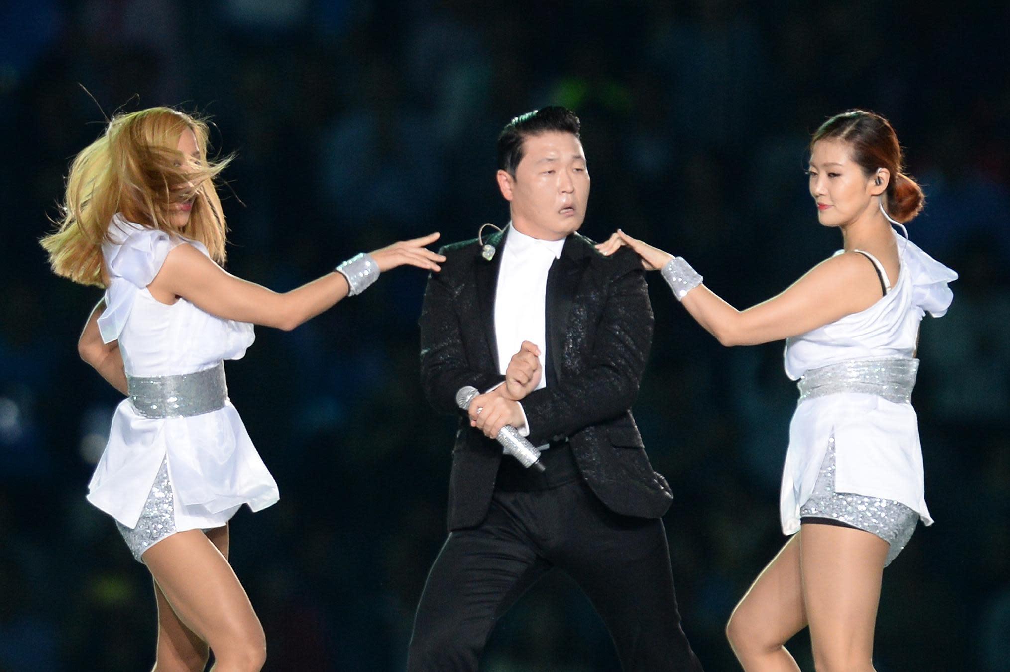 Asian Games kick off 'Gangnam Style'