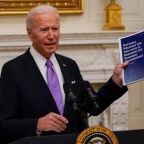Biden vows to move 'heaven and earth' to administer 100 million vaccine doses in 100 days as he calls Trump effort a 'dismal failure'