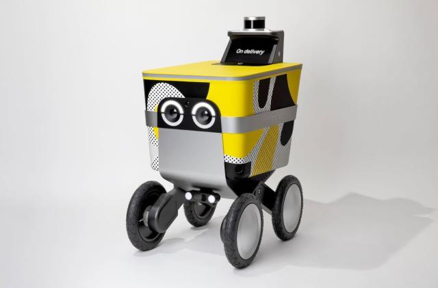 Postmates unveils its adorable autonomous delivery robot