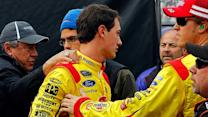 Logano, Hamlin Twitter battles are 'ridiculous'