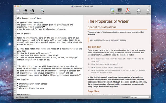 Apps We Actually Use: Markdown Pro for editing text and markdown documents
